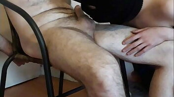 He tied me up and made me cum