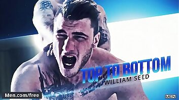 (Ryan Bones, William Seed) - Top To Bottom  William Seed - Trailer preview - Men.com