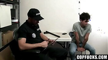 Wild Sexual Punishment For Young Shoplifter By Officer