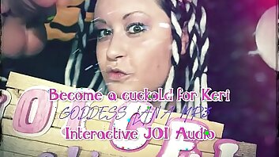Be proper a Cuckold for Keri Interactive JOI Audio by Goddess Lana