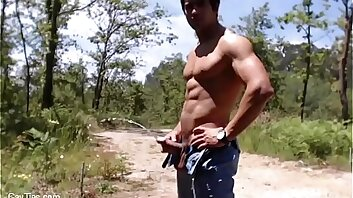 Clips of guys peeing in public