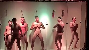 strippers in gay club